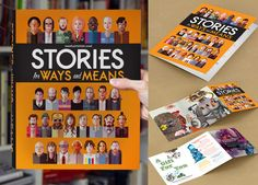 Stories for Ways and Means  THE RARE RARE RARE EXCLUSIVE SIGNED EDITION is a limited quantity of 100 hand signed by Nick Cave, Justin Vernon (Bon Iver), Devendra Banhart, Gary Numan, Del The Funky Homosapien, Anthony Lister, Kathleen Hanna, Dan Baldwin, John Vanderslice, and James Jean...ALL IN ONE BOOK.