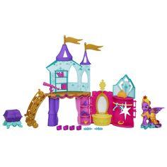 Amazon.com: My Little Pony Crystal Princess Palace Playset: Toys & Games
