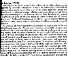 (ENFJ Description) we're all so different and beautiful and crazy and blind and insightful in our own ways...