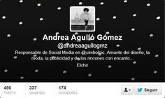 Fotos Twitter de portadas de Andrea Agullo
