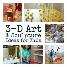 3-D art and sculpture