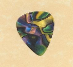 swirl guitar pick medium gauge  (pick b) #GuitarPick
