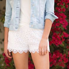 Like the shorts just not white.