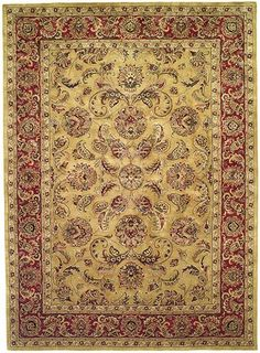 Gold Yellow  Classic Agra/Mahal Rug | Free Shipping! |  Safavieh No. CL398