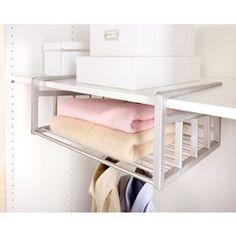 Aréglo Extendable Space-Saving Shelf Basket La Redoute Interieurs