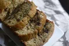 Chocolate Orange Zucchini Bread.  It has a vegetable and a fruit.  Of course it's healthy.