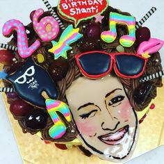 ファンキー&アフロなケーキ Enamel, Cakes, Portrait, Accessories, Vitreous Enamel, Mudpie, Men Portrait, Enamels, Cake