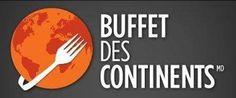 Merci à notre partenaire BRONZE Buffet Des Continents Sherbrooke qui a offert 5 cartes-cadeaux pour notre loterie-voyage!