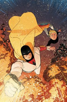 """FUTURE QUEST #11 Written by JEFF PARKER Art and cover by EVAN """"DOC"""" SHANER Variant cover by RYAN SOOK"""