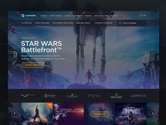 Games Store Redesign