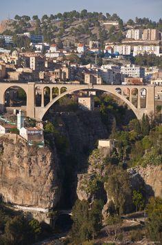 Pont de Sidi Rached bridge, Constantine, Eastern Algeria, Algeria, North Africa.
