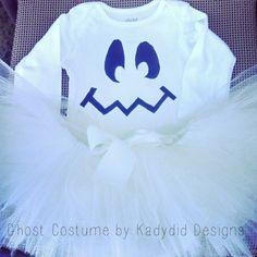 Sweet Girl's Ghost Costume