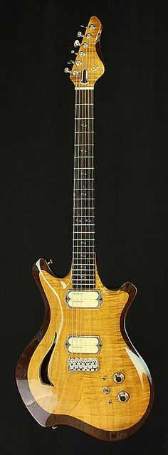 June Semi-Hollow Guitar | Stuart Keith Guitars