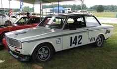 This 1967 Volvo 142S was originally developed in California and moved to the Midwest six years ago where it has enjoyed competitive racing at Blackhawk Farms, Mid-Ohio, Autobahn, and Road America.
