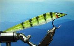DNA Perch Fry - Fly tying patterns step by step catalog