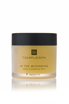 In the Beginning.... My ultimate can't do without Temple Spa product  Www.Templespa.Com/elizabethbarnes