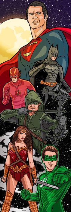 #Justice #League #Fan #Art. (Justice League) By: Willdigc. (THE * 5 * STÅR * ÅWARD * OF: * AW YEAH, IT'S MAJOR ÅWESOMENESS!!!™)[THANK Ü 4 PINNING!!!<·><]<©>ÅÅÅ+(OB4E)   https://s-media-cache-ak0.pinimg.com/474x/83/df/b9/83dfb9cdb4e4988d567981b684ca92f4.jpg