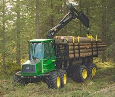 Let's collect some firewood Woods Equipment, John Deere Equipment, Logging Equipment, Heavy Equipment, Agriculture Farming, Engin, Heavy Machinery, John Deere Tractors, Vintage Farm