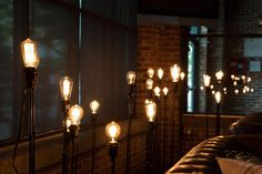 Eclectic hive edison light display - Google Search