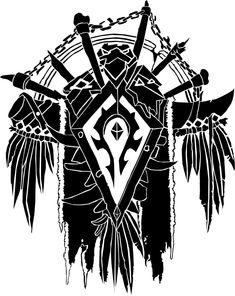 Horde Crest by ropa-to.deviantart.com on @deviantART