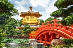 Nan Lian Garden In Hong Kong puzzle in Bridges jigsaw puzzles on TheJigsawPuzzles.com. Play full screen, enjoy Puzzle of the Day and thousands more.