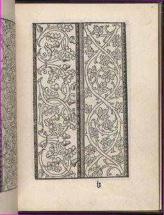 Page from Ein new kunstlich Modelbuch...(Page 13r).  Peter Quentel.  1544.