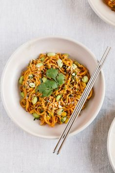 6 Spiralized Veggie Recipes