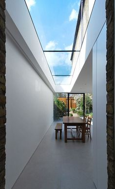 Loft Decorating Ideas - Abstract Canvas Wall Art And Minimalist Decor - Minimalist Home Decor - Extension Veranda, Glass Extension, Pergola With Roof, Patio Roof, Pergola Kits, Cheap Pergola, Pergola Ideas, Minimalist Home Decor, Minimalist Kitchen