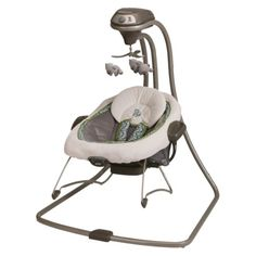Graco 2-in-1 Swing and Bouncer: Monroe I love this pattern for my future baby boy or girl