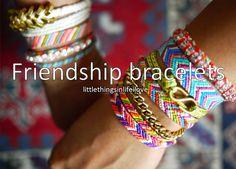 Bracelets We need to make some!!!