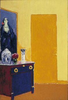 Kees van Dongen  La commode (Interieur met gele deur) (Interieur met gele deur)  circa 1910