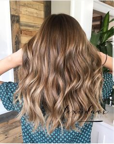 20 Cute and Easy Blonde Balayage Hairstyles – My hair and beauty Cabelo Ombre Hair, Front Hair Styles, Light Brown Hair, Blonde Balayage, Brunette Hair, Hair Highlights, Hair Looks, Dyed Hair, Hair Inspiration