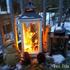 760 best diy by ines felix images on pinterest creative for Winterdeko fur garten