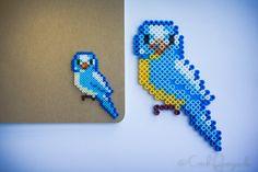 Birds hama mini and midi beads by catchfortywinks