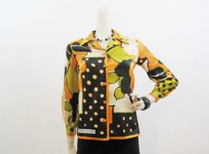 60s 70s Pierre BALMAIN Vintage Blouse S at voguevintage on Etsy