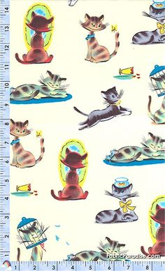Funny Cats on Cream - Cats, Elkabee's Fabric Paradise.com, LLC