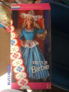 Dutch 1994 Barbie Doll.  Dolls of the World