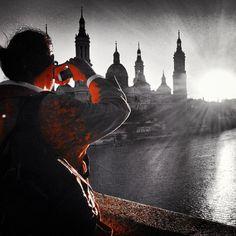 Capturando los rayos del sol por un #igerszgz - mi fotografía de hoy el perfil goloviarte  en #instagram