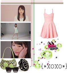 """""""XOXO Ishida Ayumi"""" by hopeyhope ❤ liked on Polyvore"""