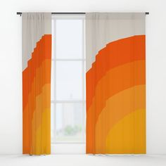 Buy Sunrise Rainbow - Left Side Window Curtains by circa78designs. Worldwide shipping available at Society6.com. Just one of millions of high quality products available.