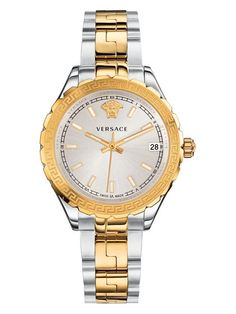 Helllenyium Lady IP Two-Tone Bracelet Watch by Versace Watches at Gilt