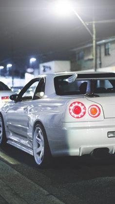 White gtr wallpaper Nissan Skyline
