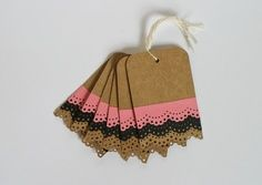 Dentelle trend tags