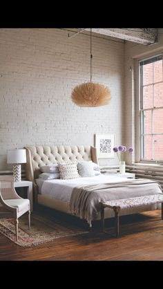 Modern home bed girl room sweet