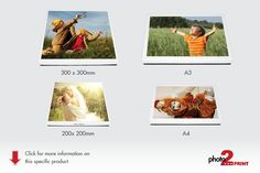 Protect your memories in a beautiful gift type box with your own photo printed on the lid.