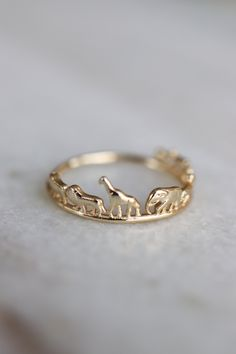 Choose One Solid 24K Yellow Gold Ring //Men/&Women Curb Beads Ring// US Size:3-10