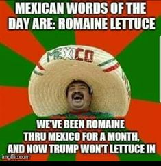 mexican word of the day: jew, featuring this image Mexican Word Of Day, Mexican Words, Word Of The Day, Funny As Hell, Funny Stuff, Funny Nfl, Hilarious, Funny Posts, Humor