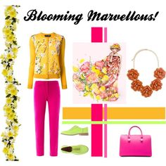 """""""Blooming Marvellous!"""" by fashionwhynot on Polyvore"""