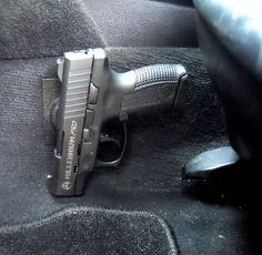 in-car pistol gun magnet