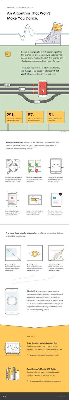 Infographie | SEO : 5 conseils clés pour devenir mobile-friendly et plaire à Google